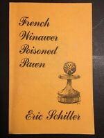 French Winawer Poisoned Pawn - Eric Schiller - 1987 Chess Monograph - VG