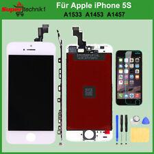 Display für iPhone 5S / SE RETINA LCD Scheibe Bildschirm Frontglas Weiß WHITE