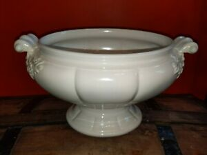 Vintage Large Red Cliff Ironstone Tureen