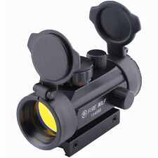 FireWolf Holographic 1x40mm Airsoft Red Green Dot Sight Scope 11&20mm Rail Mount