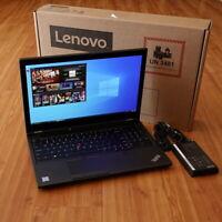 "Lenovo ThinkPad P53 Laptop i7-9750H 15"" 4K HDR OLED 3840x2160 Quadro T2000 WRTY"
