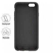Artwizz SeeJacket siliconen case beschermhoes voor de iPhone 6 6s Plus zwart B-S