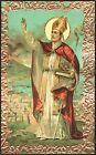 SANTINO HOLY CARD IMAGE PIEUSE - SAN GENNARO - VESCOVO e MARTIRE