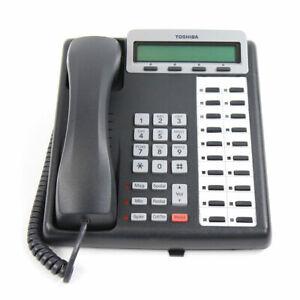 Toshiba Strata CIX 100 DKT 3220 SD 20 Button Display Speaker Telephone Charcoal