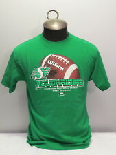 Shwo Your Rider Pride - Saskatchewan Roughrider Shirt Featuring Footbal - Mens M