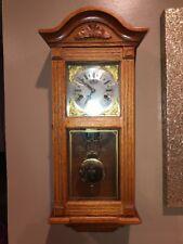 Near Mint Vintage Montgomery Ward Key Wind Wall Clock-Rare Condition