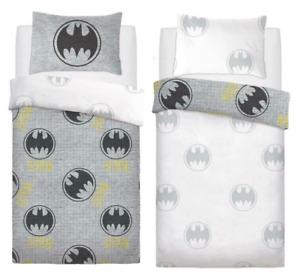 Batman Logo Reversible Single Duvet Cover Bedding Set Ideal Perfect Gift