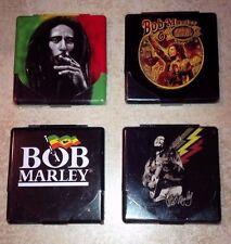 One BOB MARLEY  Printed Metal Cigarette Case/Card&money holder(any  One Random )