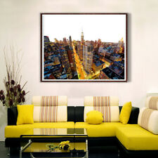 New York Empire State Building Canvas Painting Poster Picture Wall Home Decor