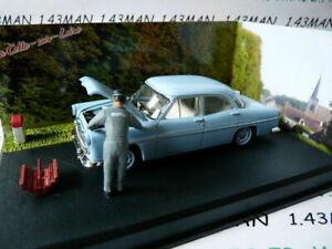 NB1E voiture altaya IXO 1/43 diorama route bleue RN7 SIMCA TRIANON panne