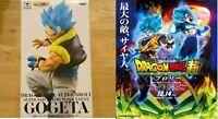 DRAGON BALL Super SS God GOGETA  Broly NAMCO Limited Figure Banpresto F/S JAPAN