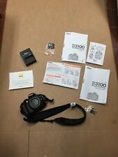 NIKON D3100 CAMERA WITH PAPERS AND CHARGER