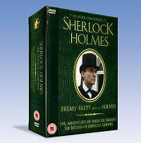 Sherlock Holmes - The Adventures / The Return (DVD, 2005, 9-Disc Set, Box Set 1)