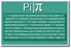 Pi - NEW Math and Science POSTER
