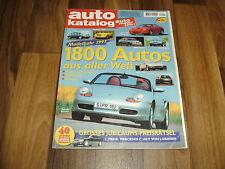 AUTO KATALOG  1997 -- 1800 Modelle aus aller Welt / Betriebskosten -- Preise