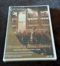 Through a Glass, Darkly (DVD, 2008) Twin Cities Gay Men's Chorus oratorio NEW