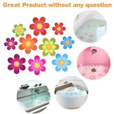 Anti-Slip Bathtub Stickers Adhesive Decals Bright Colors Large Flowers Non-slip