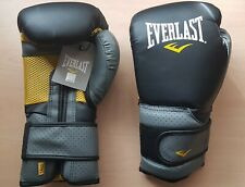 10 Pairs Half Everlast Ergofoam Training Boxing Gloves Black 14oz MMA Muay