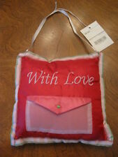 Hanging With Love Pillow with Envelope Pouch - New