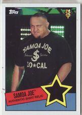 2015 WWE Heritage Samoa Joe shirt relic