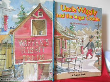 UNCLE WIGGILY AND THE SUGAR COOKIE Howard Garis lge HC 1977 vintage collectable