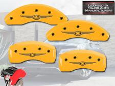 "2001-2010 ""Chrysler"" PT Cruiser NT Front + Rear Yellow MGP Brake Caliper Covers"