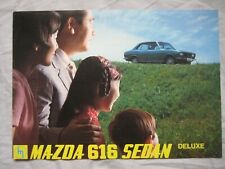 Mazda 616 Sedan Brochure Publication Number A47007N100-159
