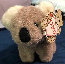New listing Gund Vintage Rare Fuzzles Bear With Tag.1987 Koala Bear