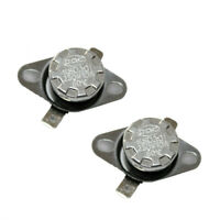 2Pcs KSD301 N.C 120°C Thermostat Temperature Thermal Control Switch 10A AC 250V