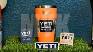 Yeti 26oz Stackable 🧡CORAL 🧡Rambler cup - NEW