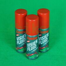 3er-Set (je 75 ml) Visier- und Helmreiniger, Visier Fluid Castrol® #09004