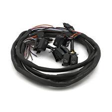 Schalter LED Armaturen Schwarz Tempomat & Radio f. Harley-Davidson Touring 96-06