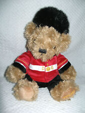 "UK BRITISH ROYAL WINDSOR CASTLE GUARD Tan TEDDY BEAR 9"" Plush DOLL"