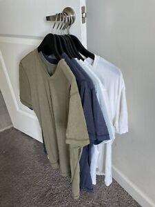 9  Lululemon 5 Year Basic Men's V T Shirts Size L Large