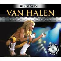 VAN HALEN BROADCAST RARITIES DELUXE CD + DVD SET NEW SEALED LIVE PRETTY WOMAN