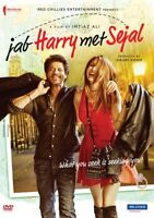 JAB HARRY MET SEJAL DVD - SHAHRUKH KHAN - BOLLYWOOD MOVIE DVD / ENGLISH SUBTITLE