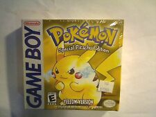 Pokemon: Yellow Version - Special Pikachu Edition (Nintendo Game Boy) BRAND NEW