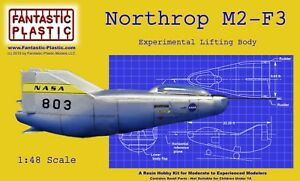Northrop M2-F3 Experimental Lifting Body - 1:48 Scale Resin Model Kit