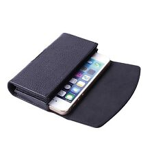 OFFER! Genuine Leather Double Case For 2 x Apple iPhone 5/5s/5se new design.