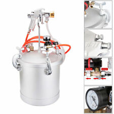10L New High Pressure Pot&2.5Cal Spray Gun Air Paint Tank For Colorful Paint