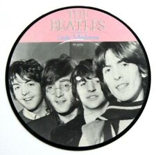 """EX/EX! Beatles Picture Disc  Lady Madonna 7"""" Vinyl The 20th Anniversary"""