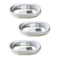 3 PACK NEW Original Lightning USB Charger Cable For Apple iPhone 6s 7 8 Plus X