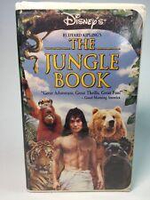 The Jungle Book (VHS, 1995)