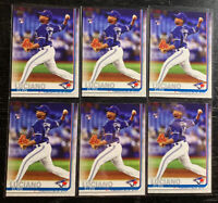 Elvis Luciano RC Lot(6) 2019 Topps Update Series US74 Toronto Blue Jays