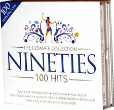 Ultimate Nineties 5 CD set of 90s 1990s Original Music Tracks