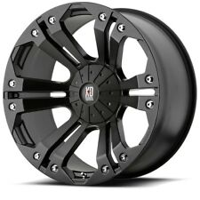 "20"" XD Series XD778 Monster Black Wheel 20x10 8x6.5 -12mm Chevy GMC Dodge 8 Lug"
