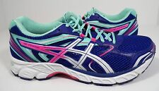 ASICS Women's Gel-equation 8 Running Shoe Dazzling Blue/White/Hot Pink 5.5 M