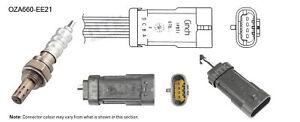 NGK NTK Oxygen Lambda Sensor OZA660-EE21 fits Renault Clio 1.4 16V (II) 72kw,...