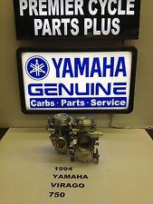 1994 YAMAHA VIRAGO XV 750 SET OF MIKUNI CARBS CARBURETORS
