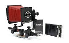 Cambo Cadet 4X5 Camera with Schneider 135mm F4.7 Lens + Holders + FILM #3
